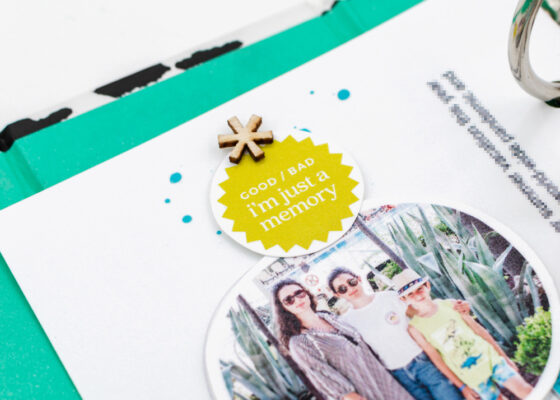 Scrapbook Challenge January 2021 - Sahin Designs