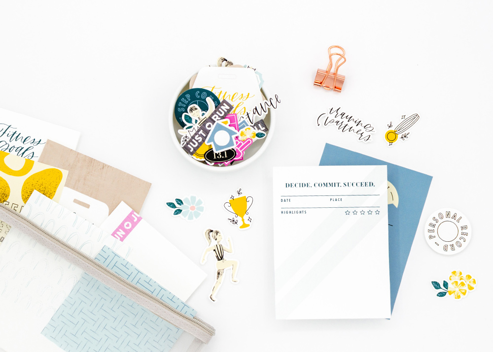 Go the Distance Digital Scrapbook Collection - Sahin Designs