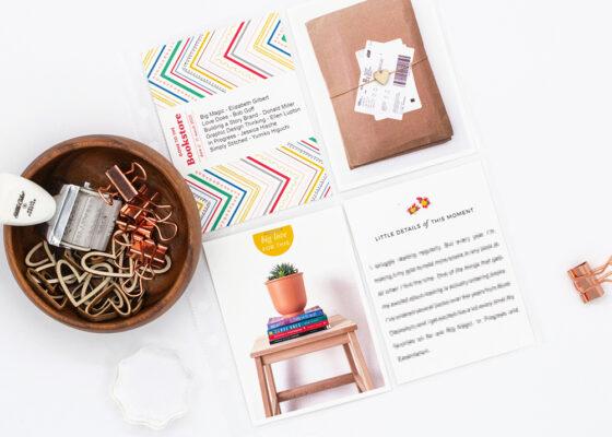 Scrapbook Challenge February 2021 - Sahin Designs