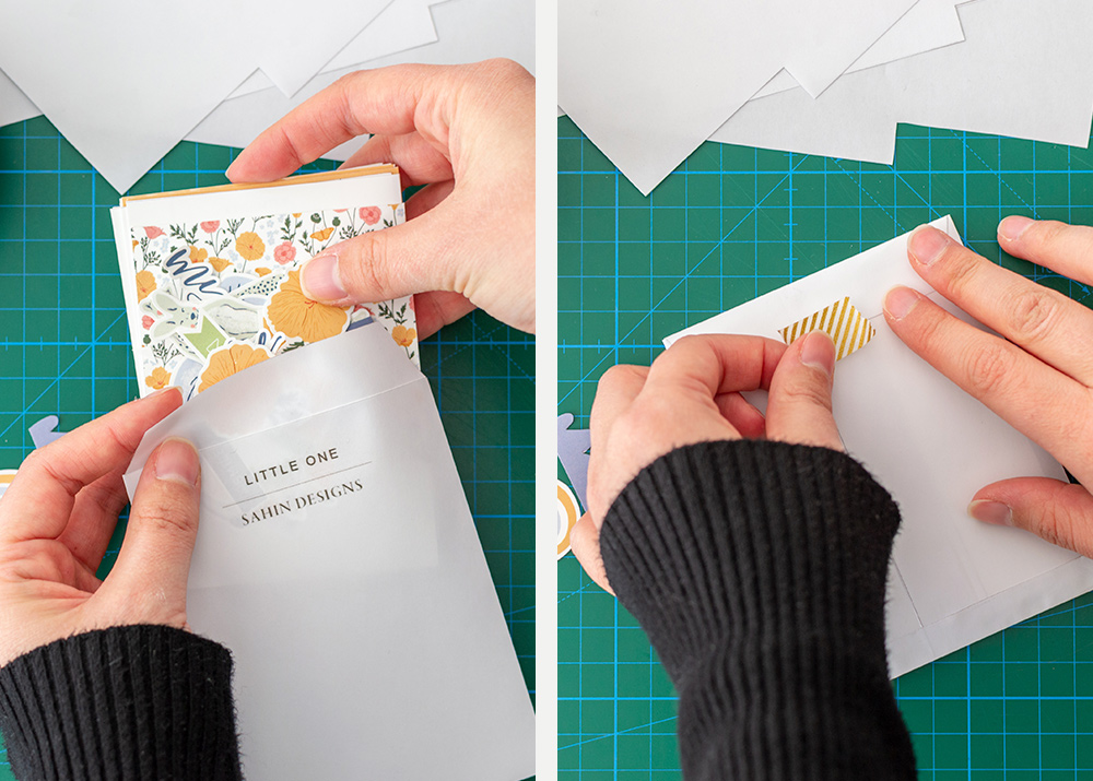 Free Envelope Printables for Organizing Scrapbook Supplies - Sahin Designs