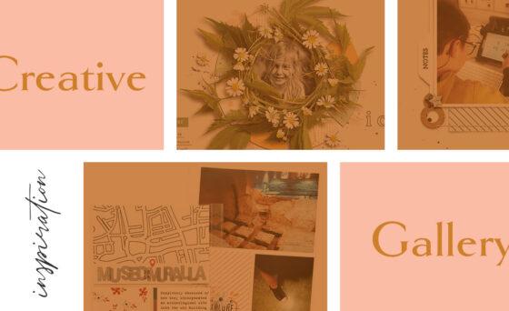 April Creative Scrapbook Gallery 2021 - Sahin Designs