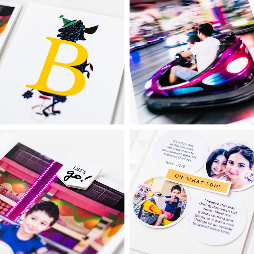 Scrapbook Challenge April 2021 - Sahin Designs