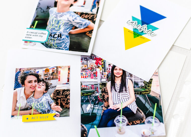 Scrapbook Challenge May 2021 - Sahin Designs