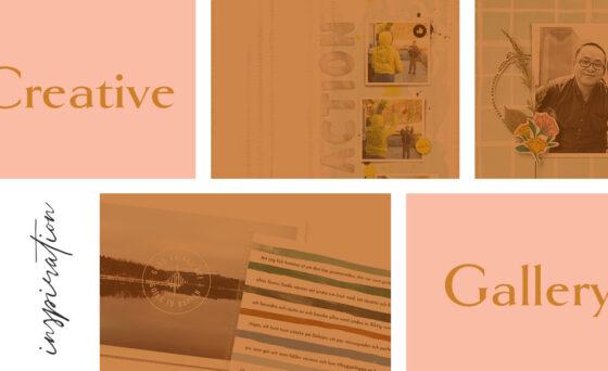 June Creative Scrapbook Gallery 2021 - Sahin Designs