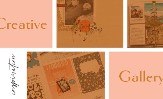 July Creative Scrapbook Gallery 2021 - Sahin Designs