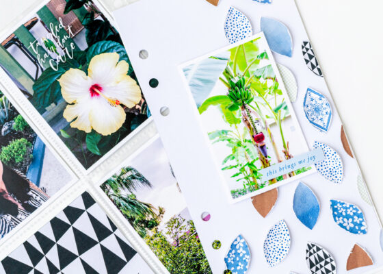 Scrapbook Challenge July 2021 - Sahin Designs