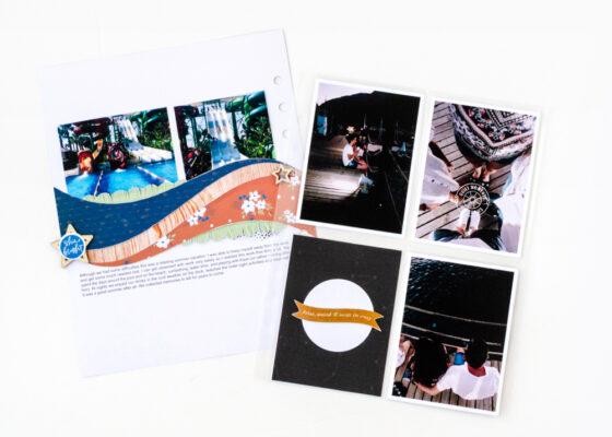 Scrapbook Challenge August 2021 - Sahin Designs