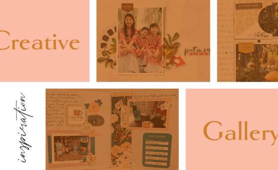 September Creative Scrapbook Gallery 2021 - Sahin Designs