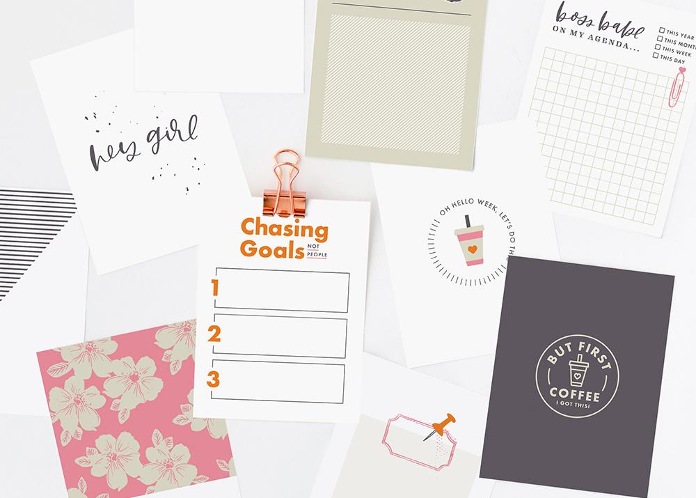 Work Free Printable Pocket Cards - Sahin Designs